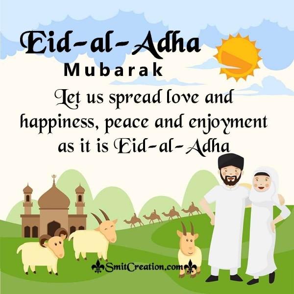 Eid-al-Adha Mubarak Message Image