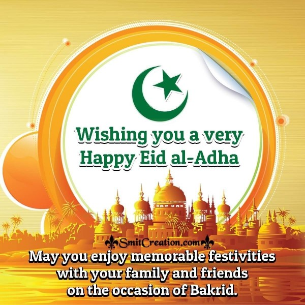 Wishing You A Very Happy Eid al-Adha