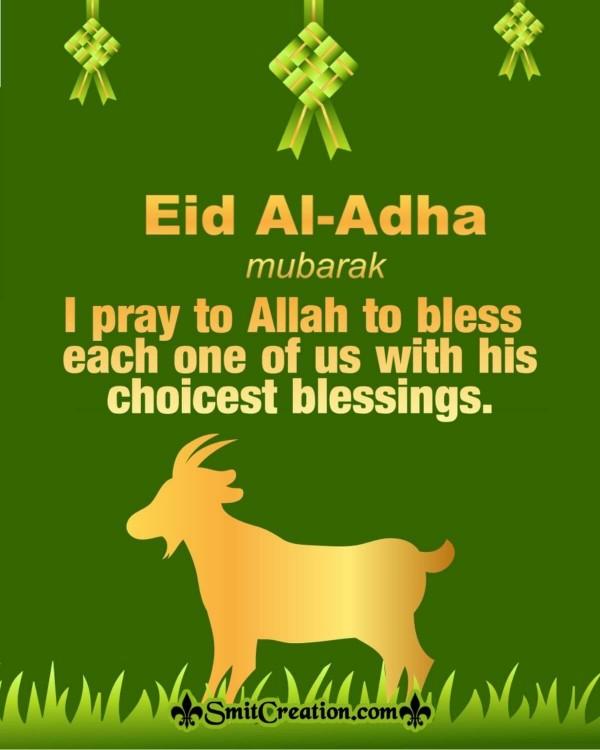 Eid Al Adha Mubarak Wishes