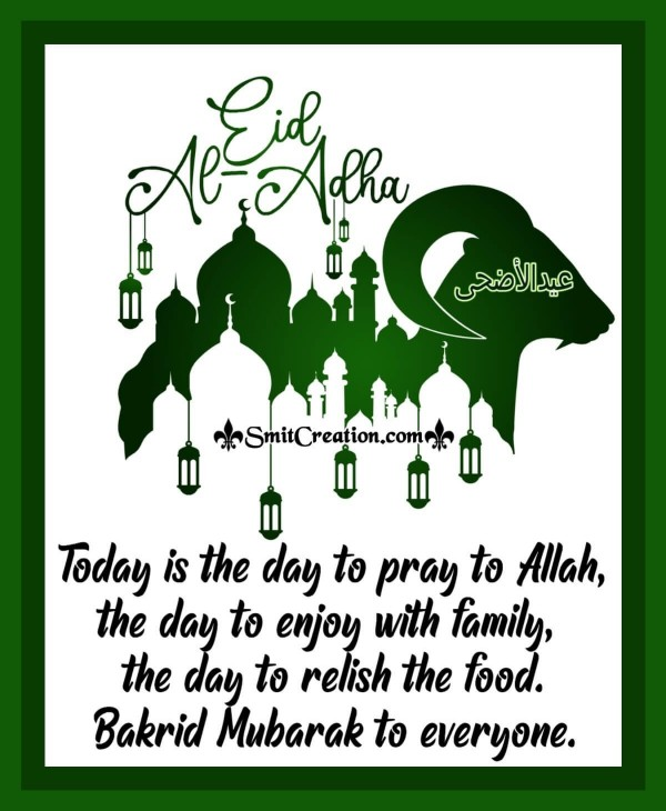 Bakrid Mubarak To Everyone