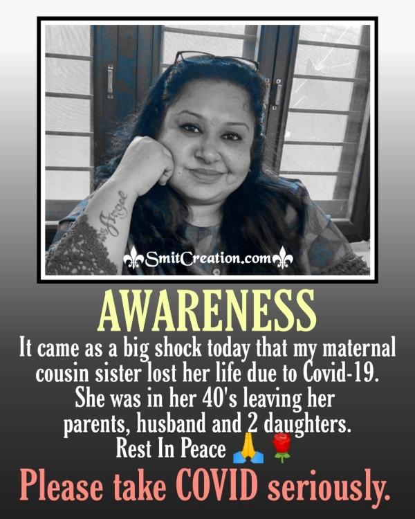 Awareness Stay Safe Take Care