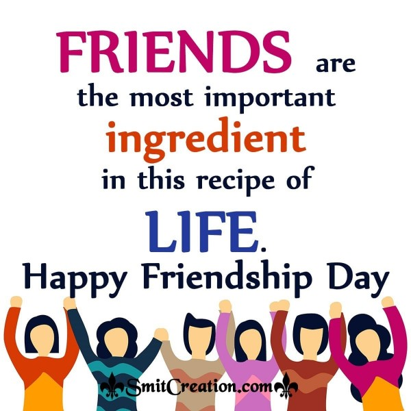Friendship Day Quote Image