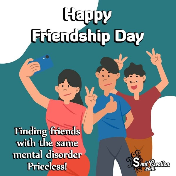 Friendship Day Quote Pic