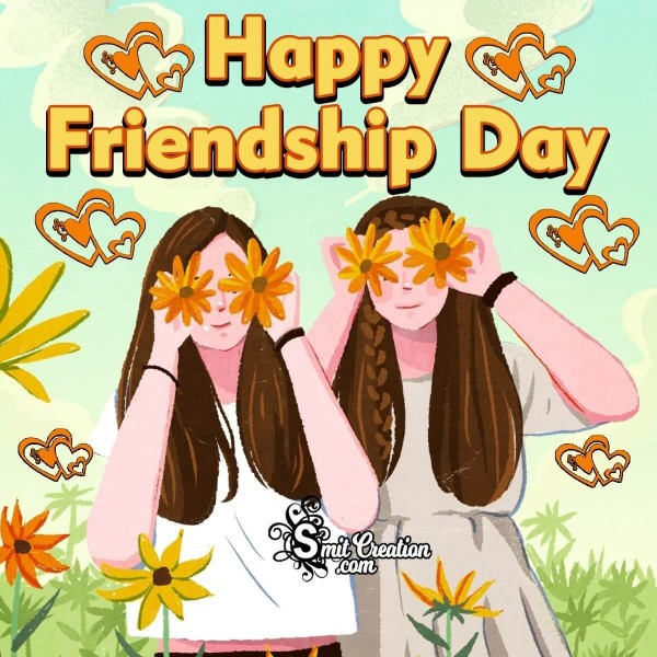 Happy Friendship Day Image For Girls