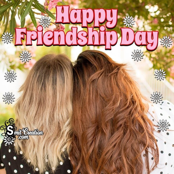 Happy Friendship Day Picture For Girls