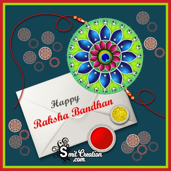 Happy Raksha Bandhan Greeting For Distant Brother