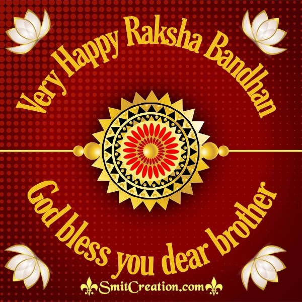 Very Happy Raksha Bandhan Image