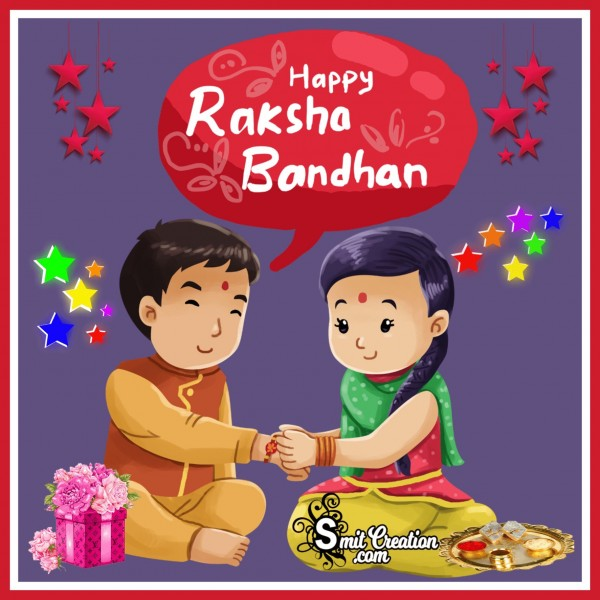 Happy Raksha Bandhan Photo For WhatsApp