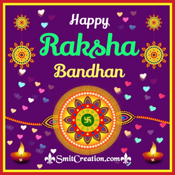 Happy Raksha Bandhan Beautiful Image