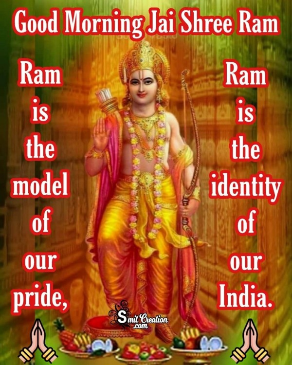Good Morning Jai Shree Ram Image