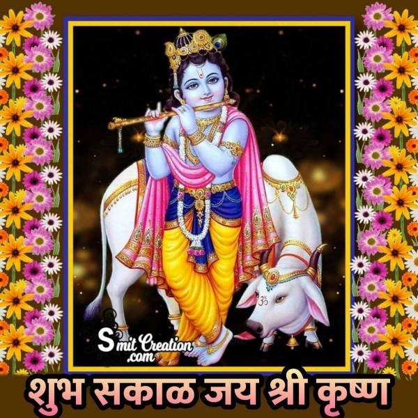 Shubh Sakal Bal Krishna Images ( शुभ सकाळ बाल कृष्ण इमेजेस )