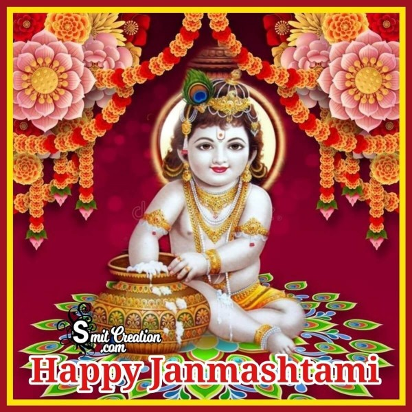 Happy Janmashtami Bal Krishna