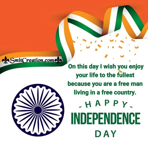 Happy Independence Day Wish Image