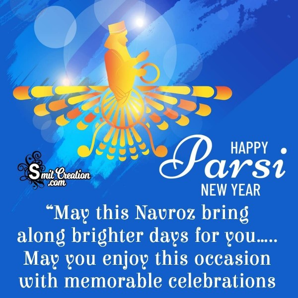 Happy Parsi New Year Message Image