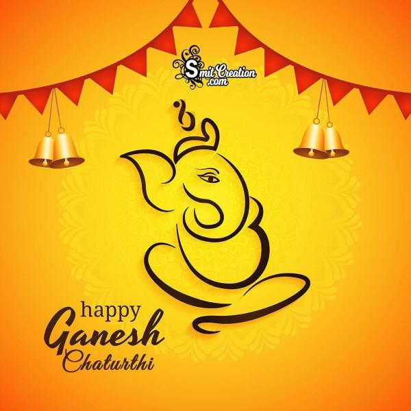 Happy Ganesh Chaturthi Festival Image