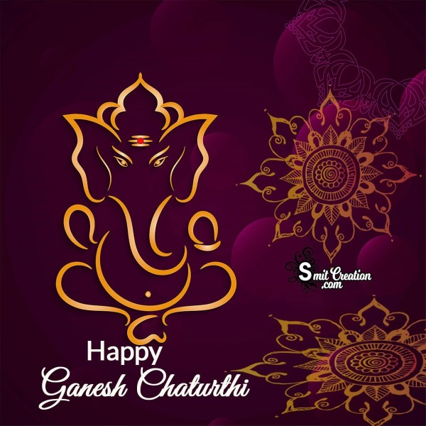 Happy Ganesh Chaturthi Decor Image