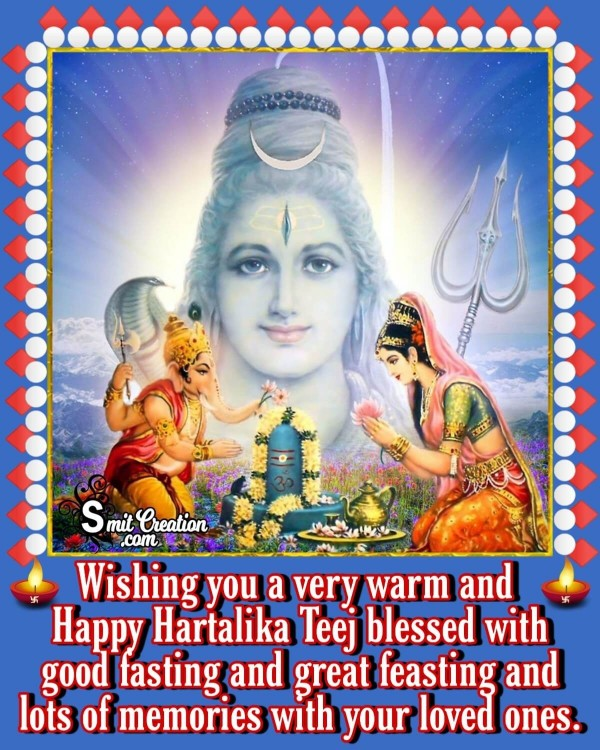 Happy Hartalika Teej Blessing