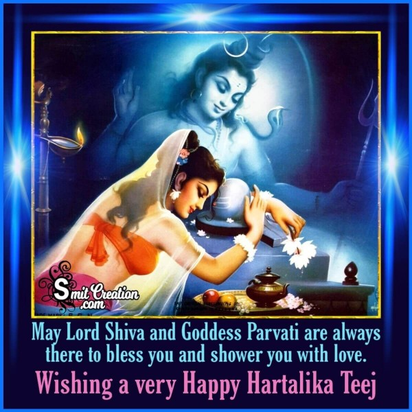 Wishing A Very Happy Hartalika Teej