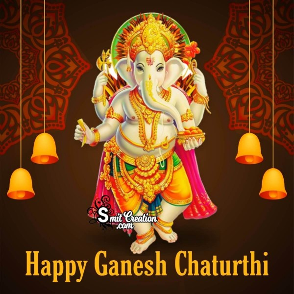 Happy Ganesh Chaturthi Beautiful Picture