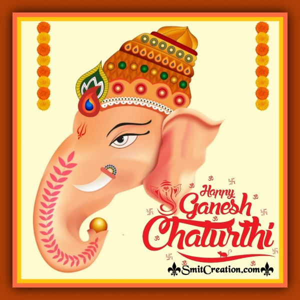Happy Ganesh Chaturthi Beautiful Image
