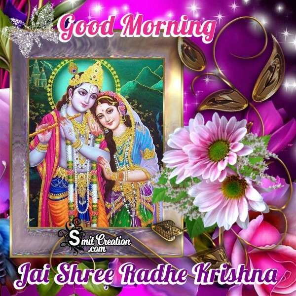 Good Morning Jai Shree Radhe Krishna Image