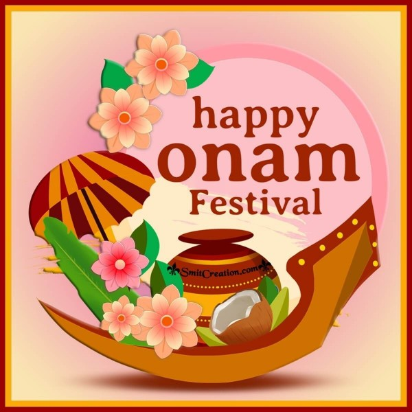 Happy Onam Creative Image