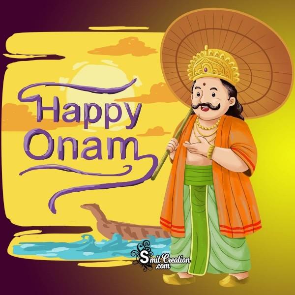 Happy Onam King Image