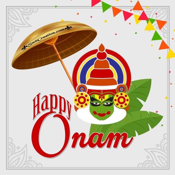 Happy Onam Design Image