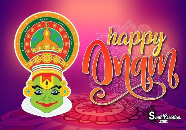 Happy Onam Mask Image