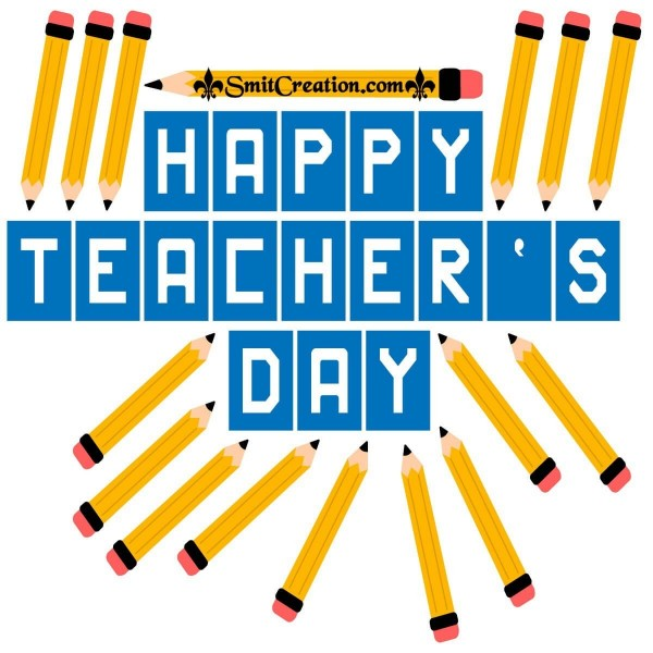 Happy Teacher's Day Creative Image