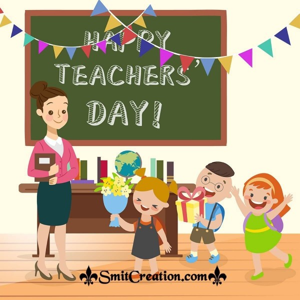 Happy Teacher's Day Celebration Pic
