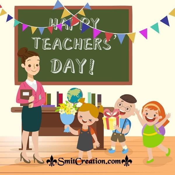 Happy Teacher's Day Celebration Pic