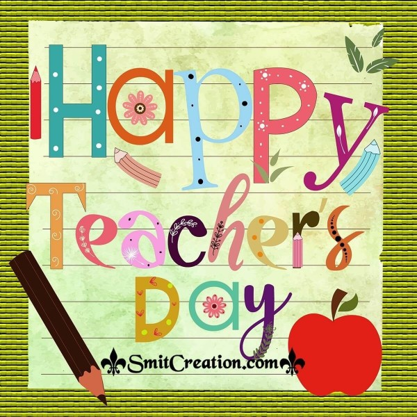 Happy Teacher's Day Pic