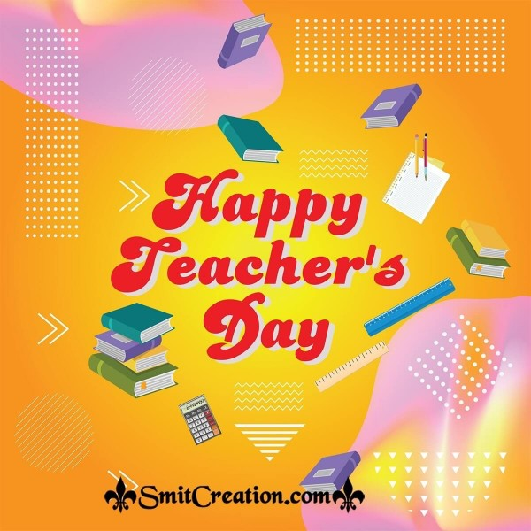 Happy Teacher's Day Graphic