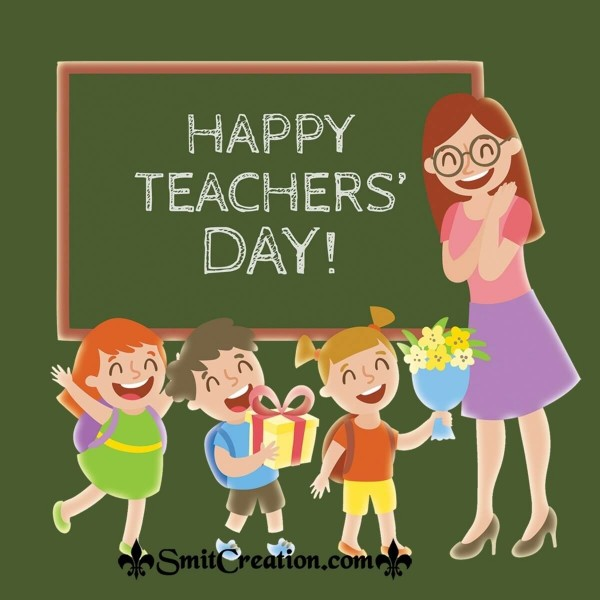 Happy Teacher's Day Image For Teacher