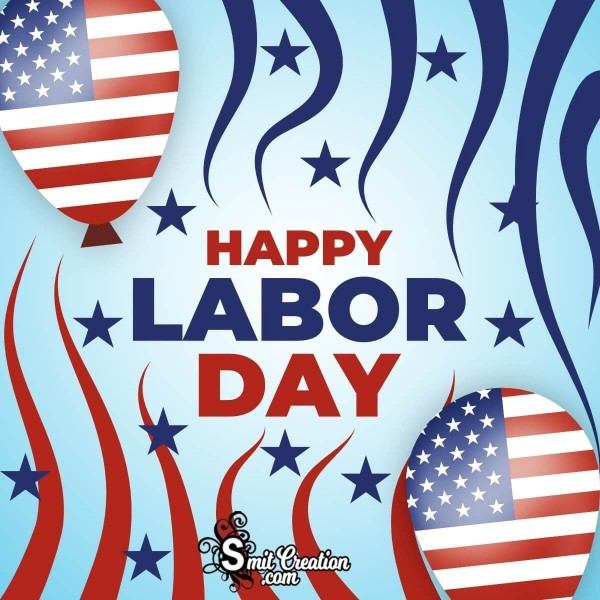 Happy Labor Day Graphic