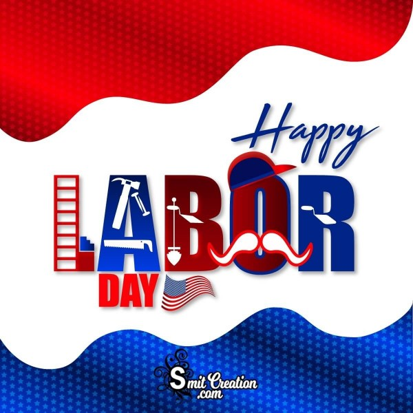 Happy Labor Day Graphic Card