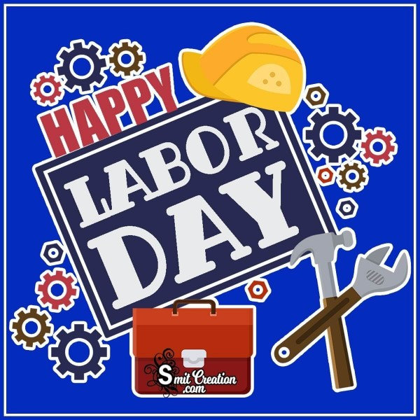Happy Labor Day Tools Image