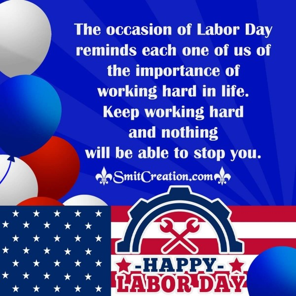 Labor Day Message Image From CEO