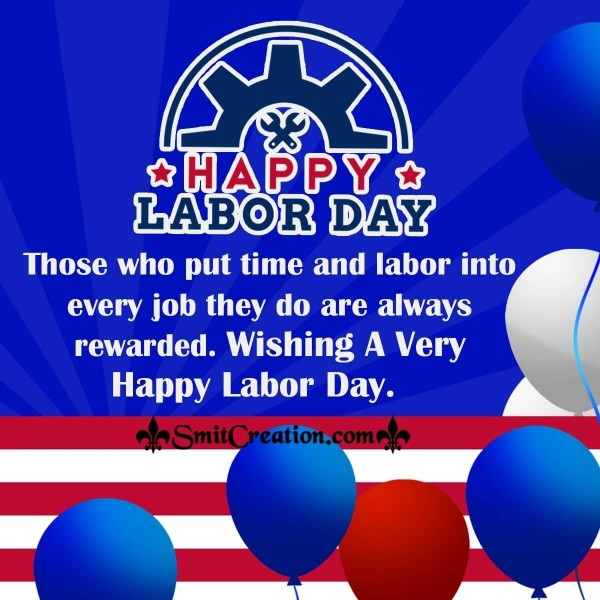 Inspirational Labor Day Message Image