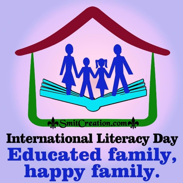 International Literacy Day Family Slogan