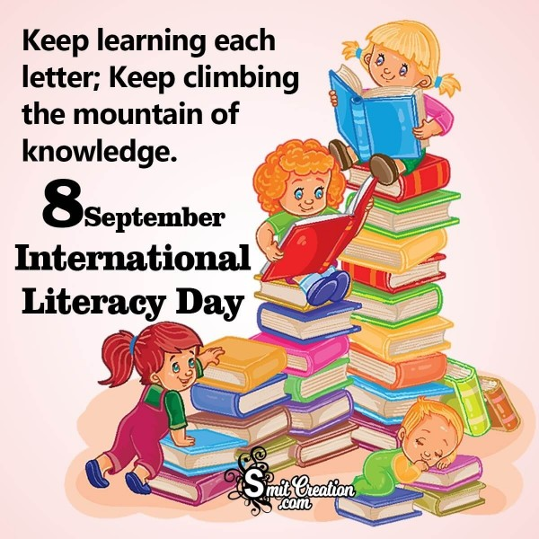 8 September International Literacy Day