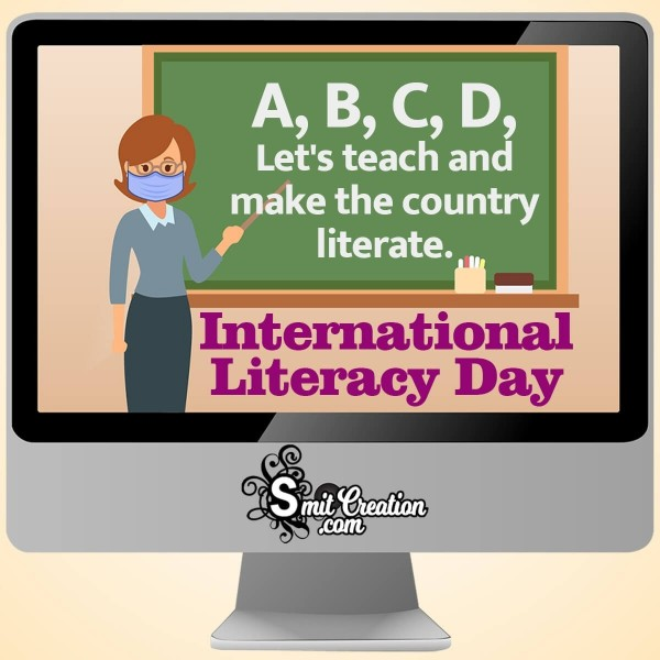 International Literacy Day Slogan Image