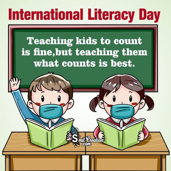International Literacy Day Quote For Teacher