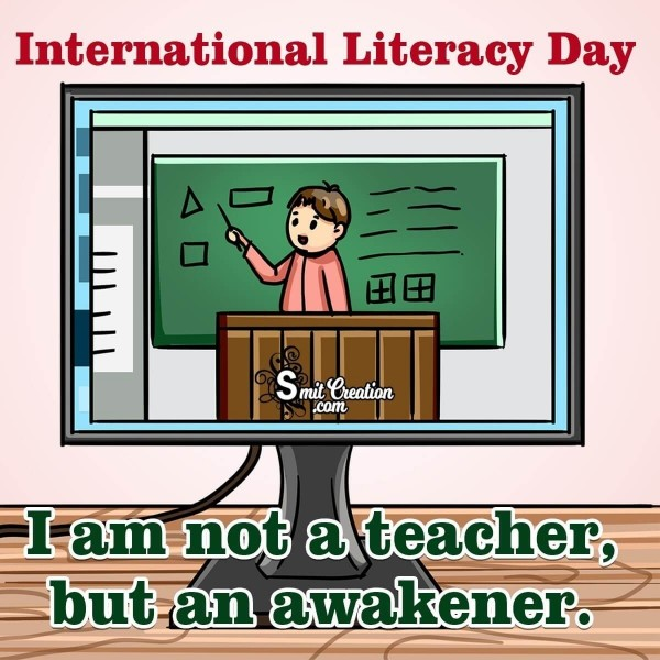 International Literacy Day Message For Teacher