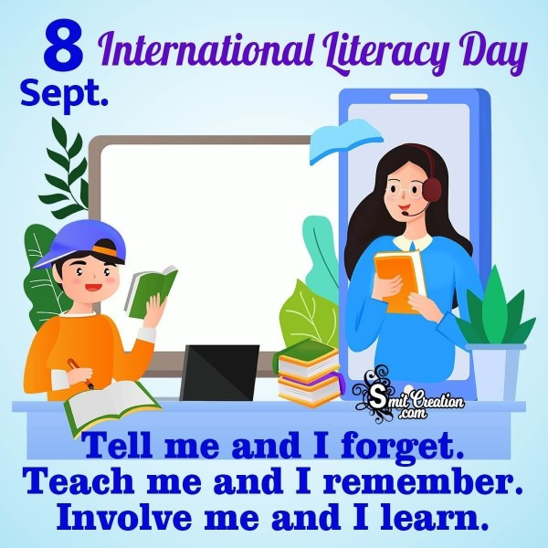 8 Sept International Literacy Day
