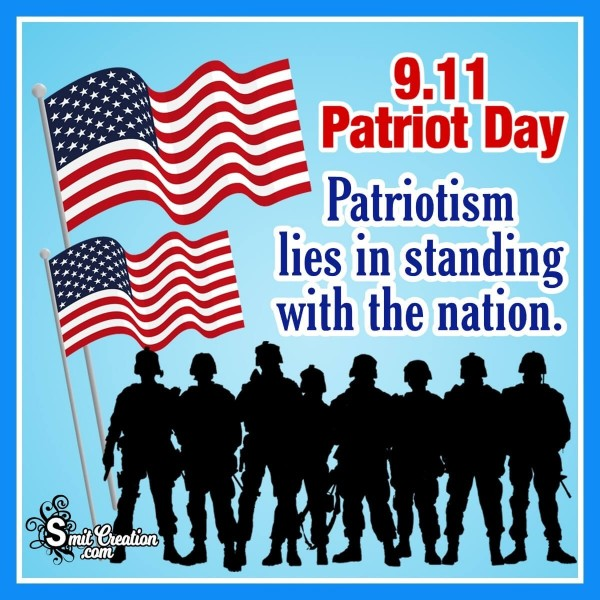 9.11 Patriot Day Catchy Quote Picture