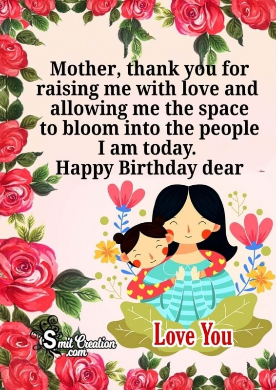 Birthday Wishes For Mom Images Pictures And Graphics Smitcreation Com