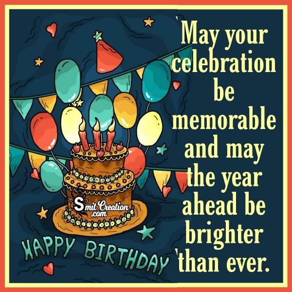 Happy Birthday Wish For Friend