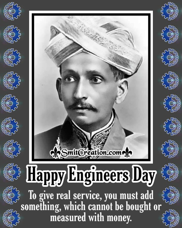 Happy Engineers Day Sir M Visvesvaraya's Quote